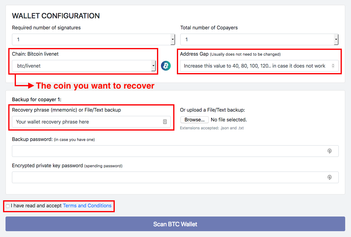 I can't use BitPay anymore  How can I recover my funds from the