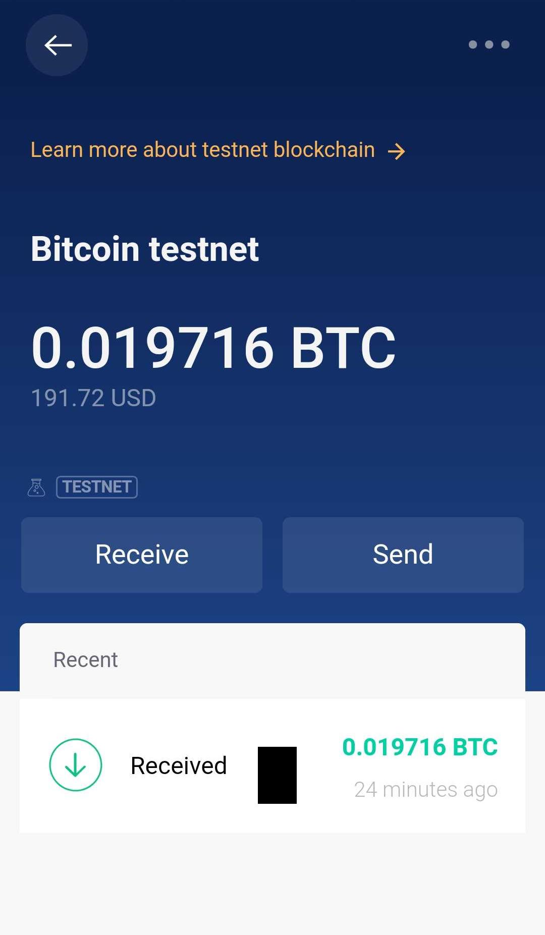 testnet bitcoin adresa
